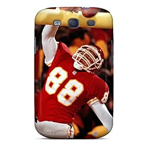 High Quality Hard Phone Covers For Samsung Galaxy S3 (Vsw10535xAWj) Custom High Resolution Kansas City Chiefs Image