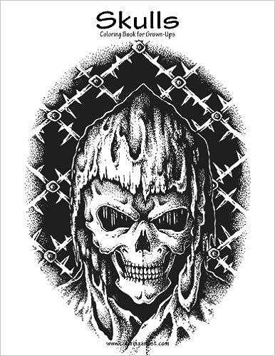 Amazon Skulls Coloring Book For Grown Ups 1 Volume 1