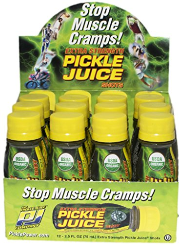 Pickle Juice Extra Strength Shots, 2.5 oz, 12 - Spicy Pickles Dill