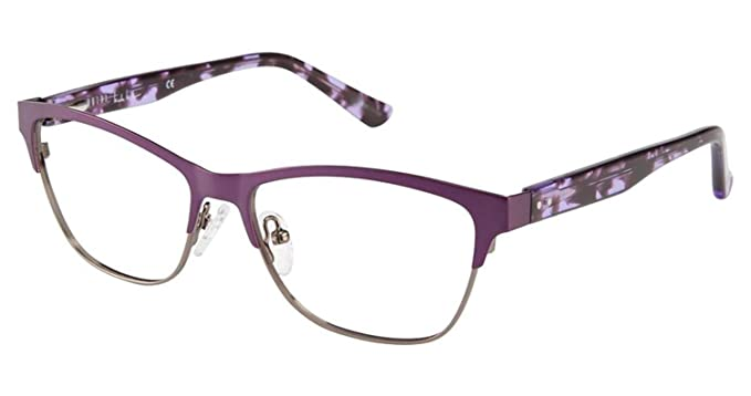 Amazon.com: Nicole Miller Baltic Eyeglass Frames - Frame MATTE ...