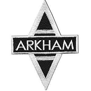 """Batman – Arkham Asylum Uniform EMBROIDERED PATCH Badge Sew On 3.5"""" - Shipped From USA"""