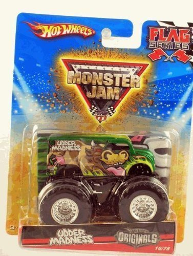 "Hot Wheels Monster Jam ""Hot Wheels Originals"" 2010 UDDER MADNESS - Flag Series #16/75 1:64 Scale Collectible Truck by Mattel"