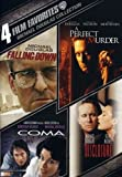 4 Film Favorites: Michael Douglas (Coma, Disclosure, Falling Down, A Perfect Murder)