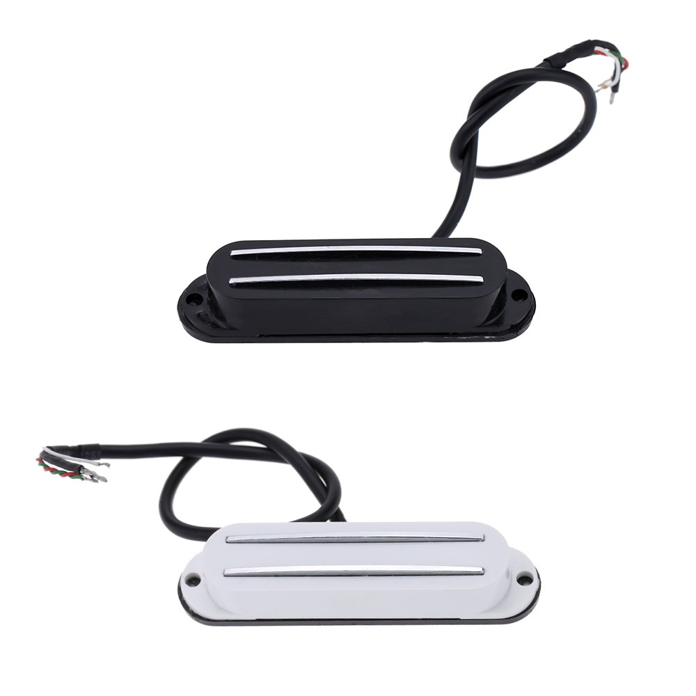 51yZdaHzYZL._SL1000_ andoer� dual hot rail single coil humbucker pickup 4 wire for  at crackthecode.co