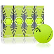 Callaway Golf Superhot Bold Matte Yellow Golf Balls