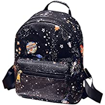 Van Caro Unisex Casual Mini Backpack,PU leather Travel Shopping Bags Daypacks