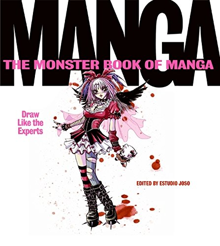 Monster Book Of Manga Draw Like The Experts