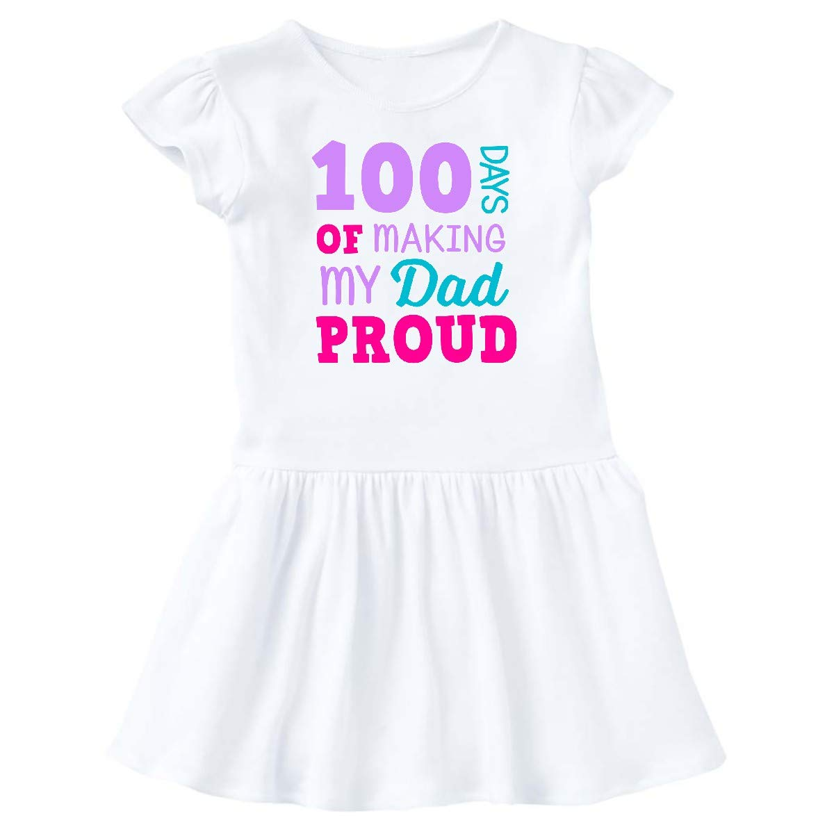 inktastic 100 Days of Making My Dad Proud Toddler T-Shirt
