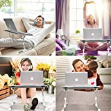 Kavalan Laptop Desk Bed Tray Table, Height & Angle