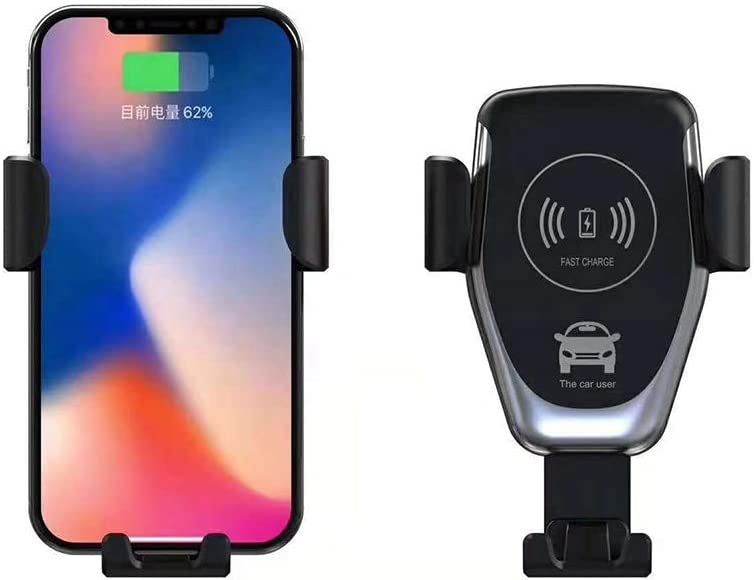 Universal Cell Phone Wireless Charger Black