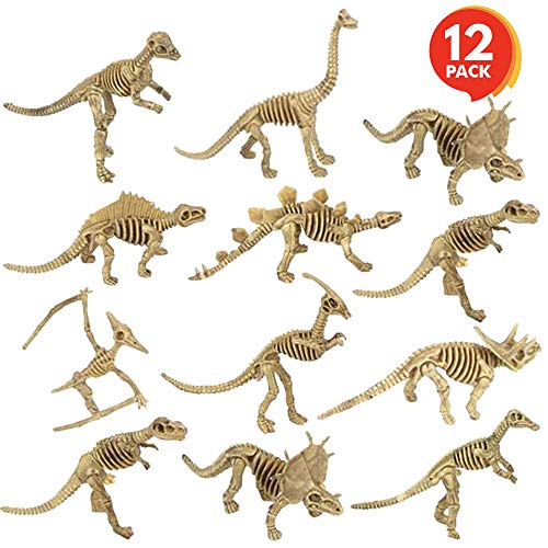 ArtCreativity Dinosaur Skeleton Toys (Pack of 12) | 6