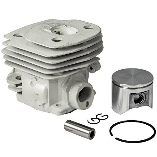 Parts Club 47mm Cylinder Piston Rebuild Kit Assembly for Husqvarna 359 357 357XP Chainsaws