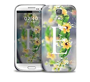 letter e Samsung Galaxy S4 GS4 protective phone case