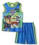 Nickelodeon PAW Patrol Toddler Boys Graphic Shirt & Mesh Shorts (5T)