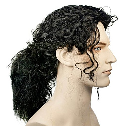 Michael Jackson Ponytail Wig for Adults