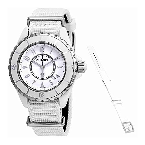 Chanel J12 White Dial Ladies Watch H4656