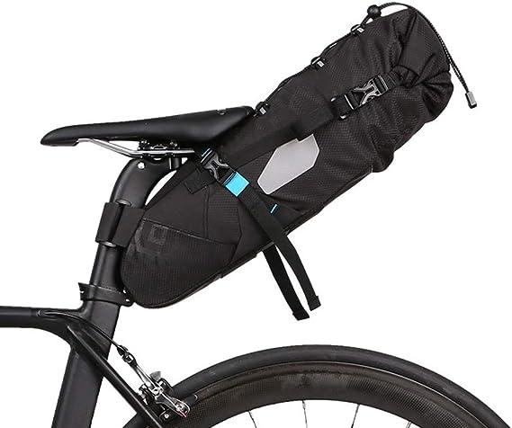 Details about  /10L Waterproof Bike Bag Bicycle Saddle Tail Seat Storage Rear Pack Bag