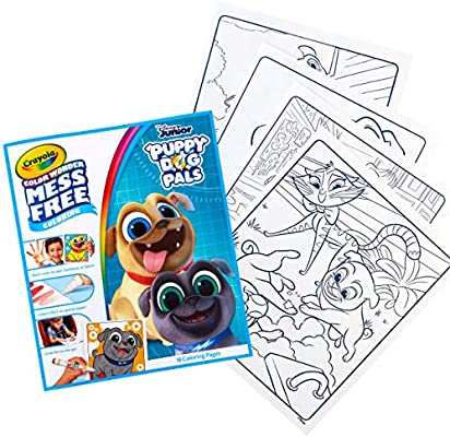 Crayola Color Wonder Puppy Dog Pals Book 18 Mess Free Coloring Pages Gift For Kids 3 4 5 6 Buy Online At Best Price In Uae Amazon Ae