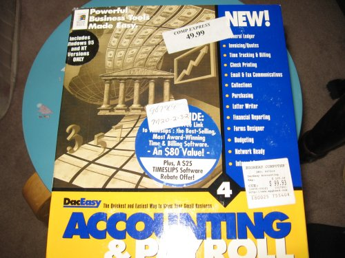 Daceasy Accounting - DacEasy Accounting & Payroll Version 4