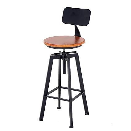 Prime Amazon Com Leisure Bar Stool Adjustable Swivel Chair Customarchery Wood Chair Design Ideas Customarcherynet