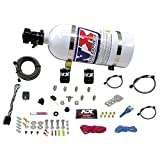 Nitrous Express 20923-10 35-75 HP Sport Compact EFI Single Nozzle System with 10 lbs. Bottle