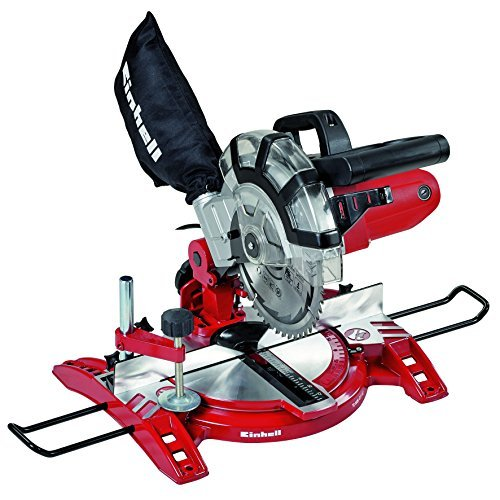Price comparison product image Einhell UK 4300295 1600 W Compound Mitre Saw with 5000 rpm Cutting Speed by Einhell