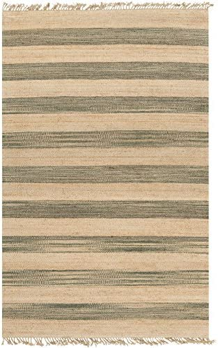 Surya Claire Hand Woven Natural Fiber Area Rug, 8-Feet by 11-Feet