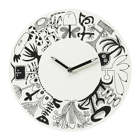 Ikea oenskedroem Orologio da parete in Bianco; (30 cm): Amazon.it ...