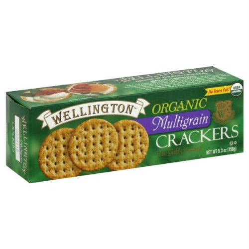WELLINGTON CRACKER WTR MLTGRN ORG, 4.4 OZ