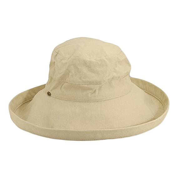 Scala Hats Lanikai Packable Sun Hat - Natural 1-Size  Amazon.co.uk ... 05e6a1484b6