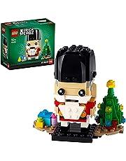 LEGO 40425 BrickHeadz Nötknäppare julleksak med julgran, julklapp för män, kvinnor och barn från 10 år