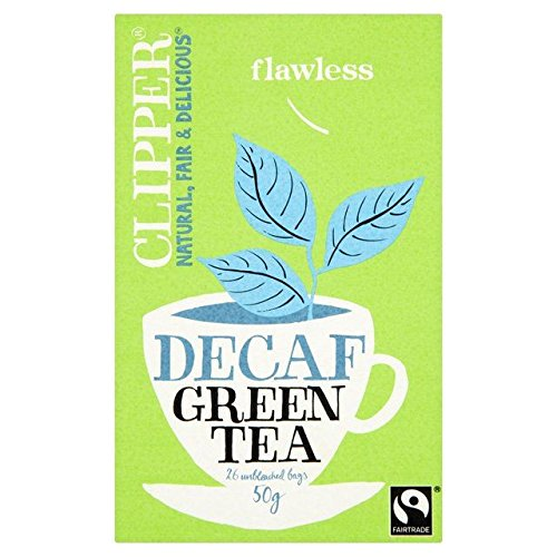 Clipper Fairtrade Decaf Green Tea - 26 per pack - Clipper Green Tea