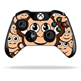 Cheap Protective Vinyl Skin Decal Cover for Microsoft Xbox One/One S Controller wrap sticker skins Monkey