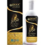 Herbal Hair Growth Oil – for Hair Fall Control and Regrowth – Ayurvedic Coconut Oil with 23 Herbs – No Mineral Oils – No Parabens – Promotes Growing Dark and Thick Hair for men and Women