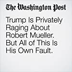 Trump Is Privately Raging About Robert Mueller. But All of This Is His Own Fault. | Greg Sargent