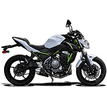 Kawasaki Z650 2017 Complete 2 1 Exhaust 8 Mini Carbon Round Muffler