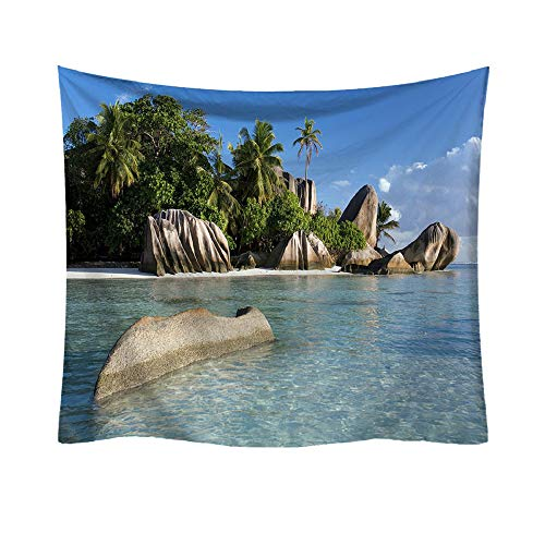 BOLUOYI Christmas Decorations Sale,Fashion Tapestry Ocean Pattern Fresh Style Decorative Home Decor (H)