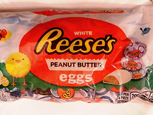 Reeses White Peanut Butter Easter Eggs 10 oz