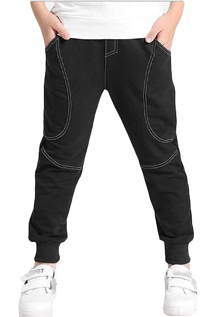 XTX Children Active Sweatpants Loose Fit Elastic-Waist Jogging Pants
