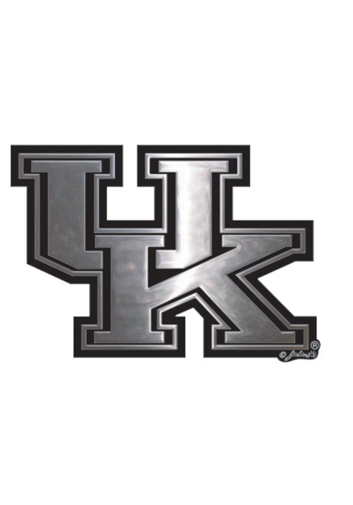 NCAA Kentucky Wildcats Car Emblem Gameday Outfitters 60148