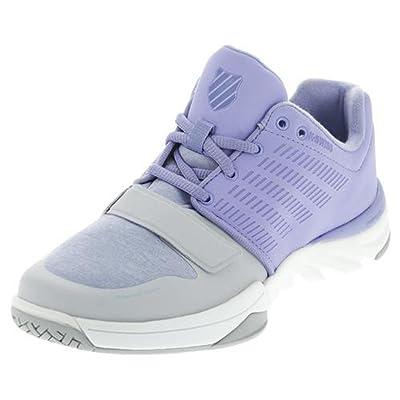 K-Swiss Women's X Court Athleisure Cross-Trainer Shoe, Deep Periwinkle/Gray Dawn, 6.5 M US   Fitness & Cross-Training