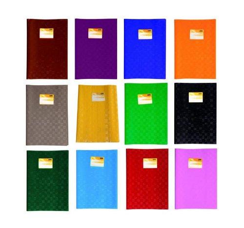 12 copertine per quaderni A4, 12 colori Livepac-Office