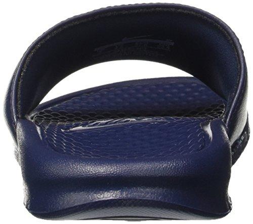 Nike Benassi, Chaussures de Plage et Piscine Homme Bleu (Midnight Navy/Windchill 403)