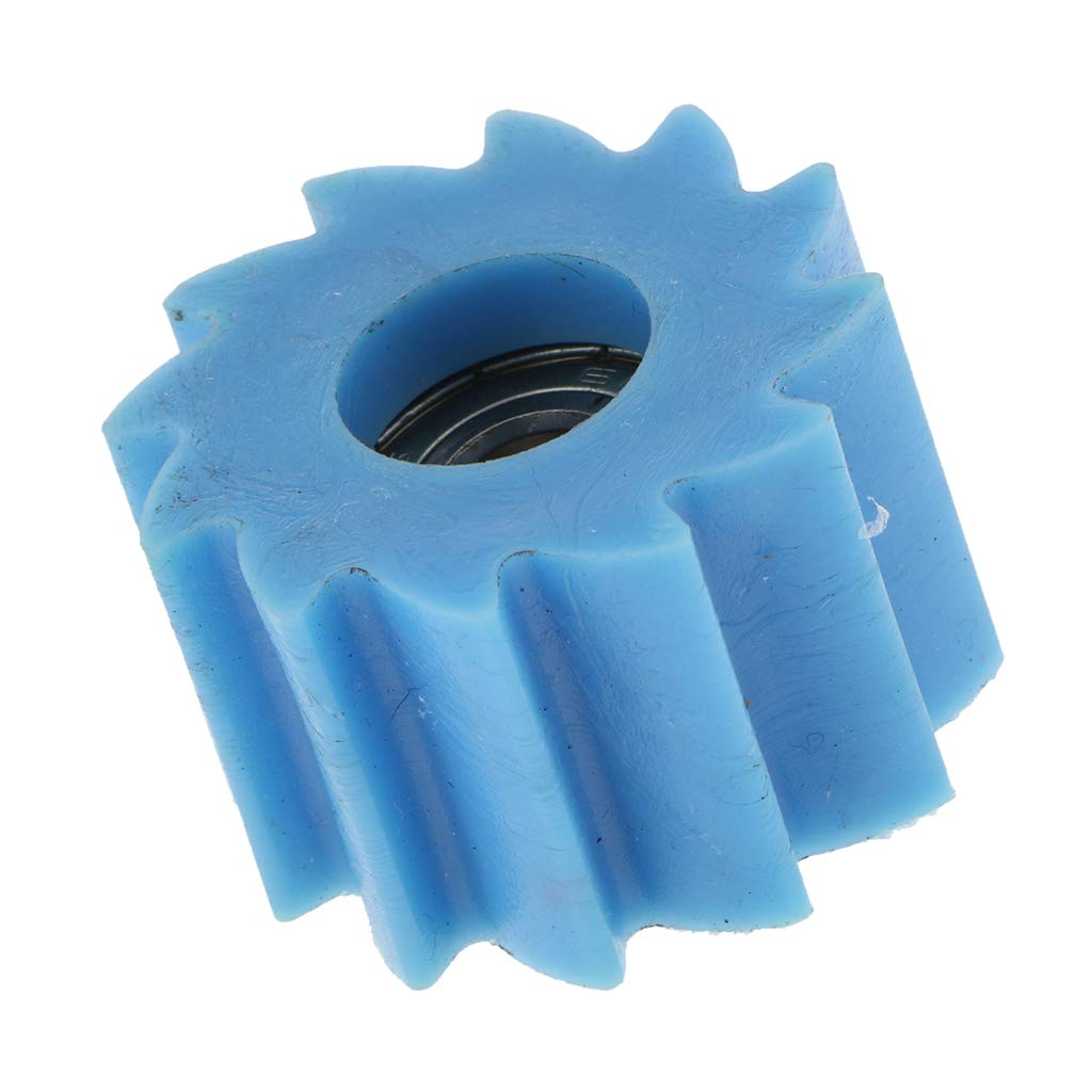 Blue Baosity Rubber Motorcycle Chain Roller Tensioner Guide for Kawasaki KX250 FKX450F 2011 2012 2013 2014 2015