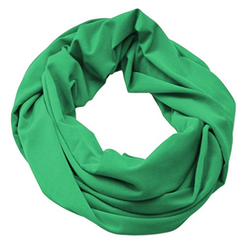 Infinity Scarf Soft & Silky Cowl Loop Choose Sizes Many Colors Women's Fashion Accessory Made in the USA