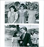 Vintage photo of Blake McIver Ewing, Brittany Ashton Holmes, Juliette Brewer and Heather Karasek in a scene from'The Little Rascals.'