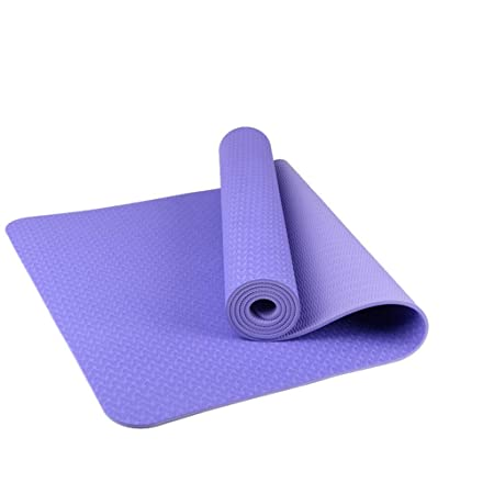 SGLI Estera de Yoga de Dos Colores, TPE, 6 mm, Esterilla de ...