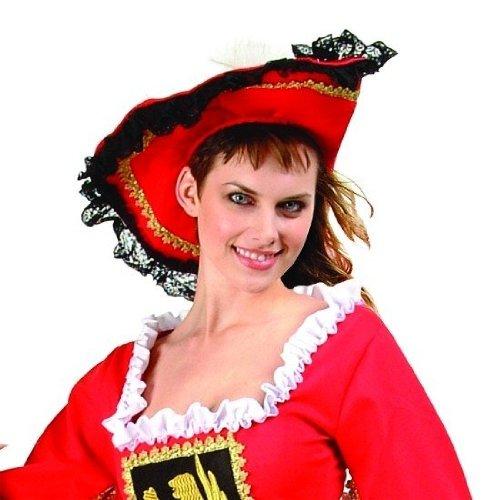 Velvet Hat - Pirate/Musketeer Hat (Standard;One Size) ()