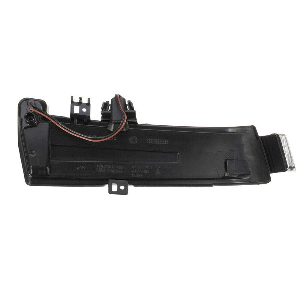 intermitente para Mercedes Benz W204 W212 W221 Luz de giro para espejo retrovisor repuesto de l/ámpara de se/ñal de giro LED para espejo retrovisor lado izquierdo o derecho