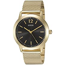 GUESS Men's U0921G3 Analog Display Quartz Gold Watch